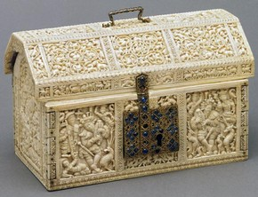 The Robinson Casket, unknown maker, Kotte, Sri Lanka, about 1557. Museum no. IS.41-1980