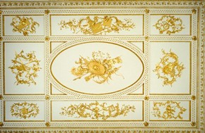 Ceiling of Norfolk House Music Room, British Galleries, V&A