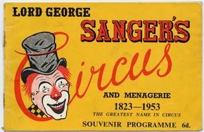 Sanger's Coronation programme, 1953