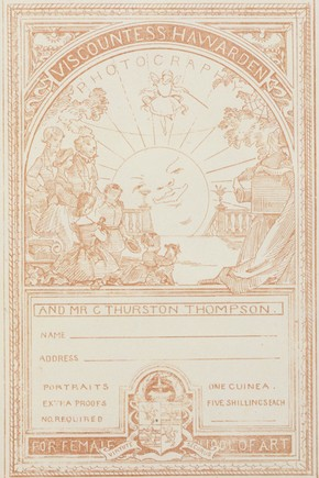 Label from 'The London Female School of Art Scrapbook of Handbills, Tickets, etc.', London, England, UK, about 1864. Museum no. NAL MARC21 NUMBER UNKNOWN