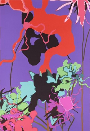 &#39;0305-03&#39;, digital print by Harold Cohen, 2003. Museum no. E.263-2005