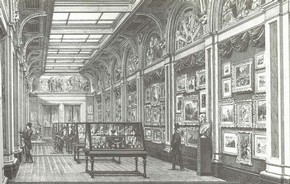 View of Room 101 around 1880