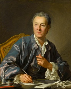 Figure 7 - Portrait of Denis Diderot, Louis-Michel Vanloo, France, 1767, oil on canvas, 81 x 65 cm. Paris: Musée du Louvre. Inv. no. RF 1958. © Réunion des musées nationaux, Paris