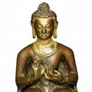 The Preaching Buddha copper gilt Nepal 10th - 11th century Museum no. IS.37-1988