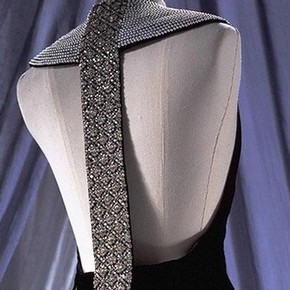 Evening dress by Catherine Walker, 1994-95, Museum no. T.49-1995
