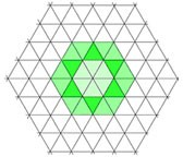 Patterns on an isometric grid