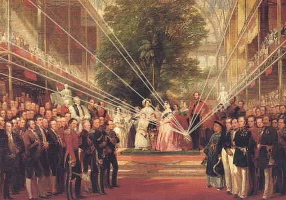 'The Opening of the Great Exhibition', 1851, Museum no. 329-1889