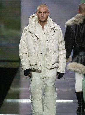 Sean &#39;Diddy&#39; Combs for Sean John, Parka, top and trousers, Autumn/Winter 2003-4, photograph courtesy of Sean &#39;Diddy&#39; Combs for Sean John