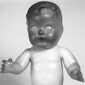 Figure 5. PVC doll. Museum no. Misc.98-1987. Photography by V