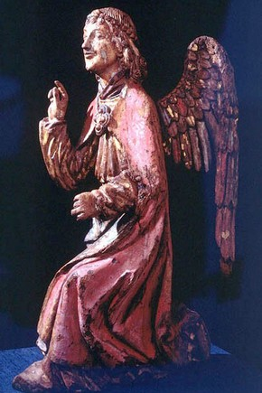 Fig 1. The angel after conservation.