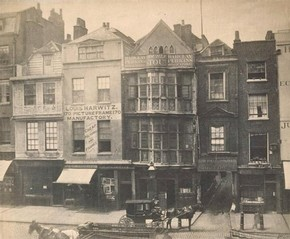 William Strudwick, Sir Paul Pindar's House, Bishopsgate Without, London, 1869. Museum no. 67:466