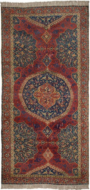 Uşak medallion carpet. Museum no. T.71-1914