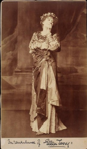 Ellen Terry by Window and Grove, photographer unknown