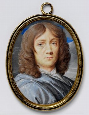 Miniature Self-Portrait by Thomas Flatman, 1673, Museum no. P.779-1938