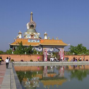 Tibetan Temple (Tara Foundation), Lumbini, 2007