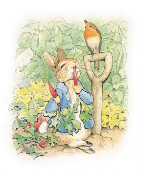 Illustration to The Tale of Peter Rabbit, 1902. © Frederick Warne & Co., 2010