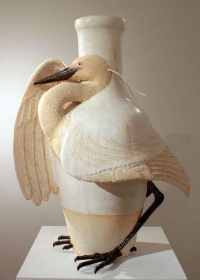 White Heron, Keiko Masumoto, 2010