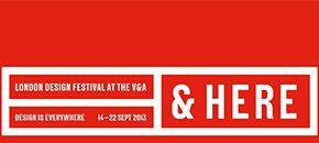 London Design Festival at the V&A 2013