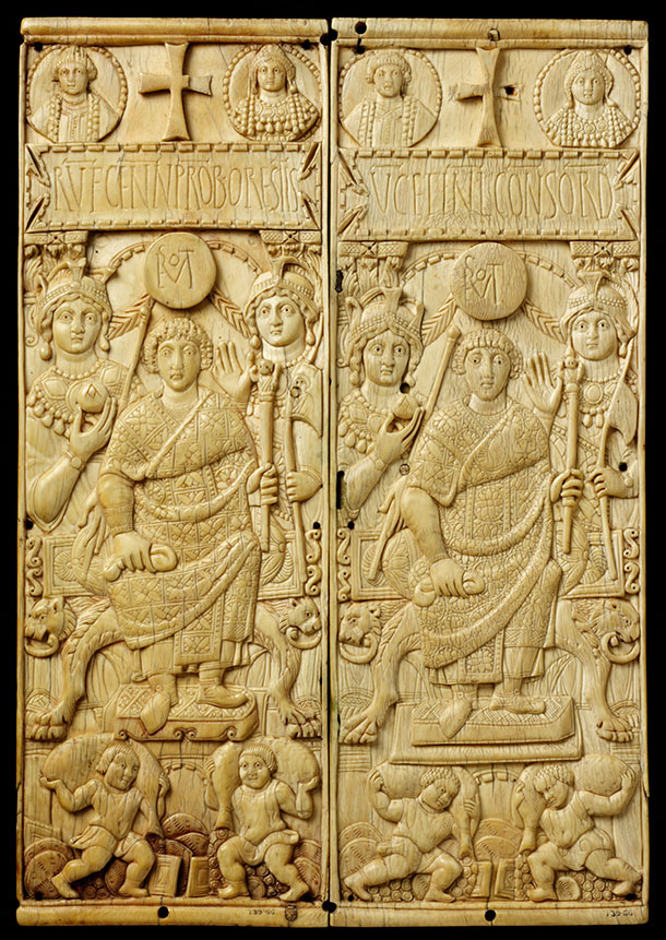 The symmachi panel about 400 ad victoria and albert museum for Who is a consular