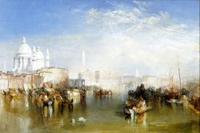 Joseph Mallord William Turner (1775-1851), Venice, 1840, oil on canvas. Museum no. FA 208, © Victoria and Albert Museum, London