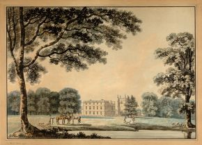 A Country House and Park, Thomas Malton II (1748-1804), 1779, watercolour. Museum no. P.8-1951, © Victoria and Albert Museum, London