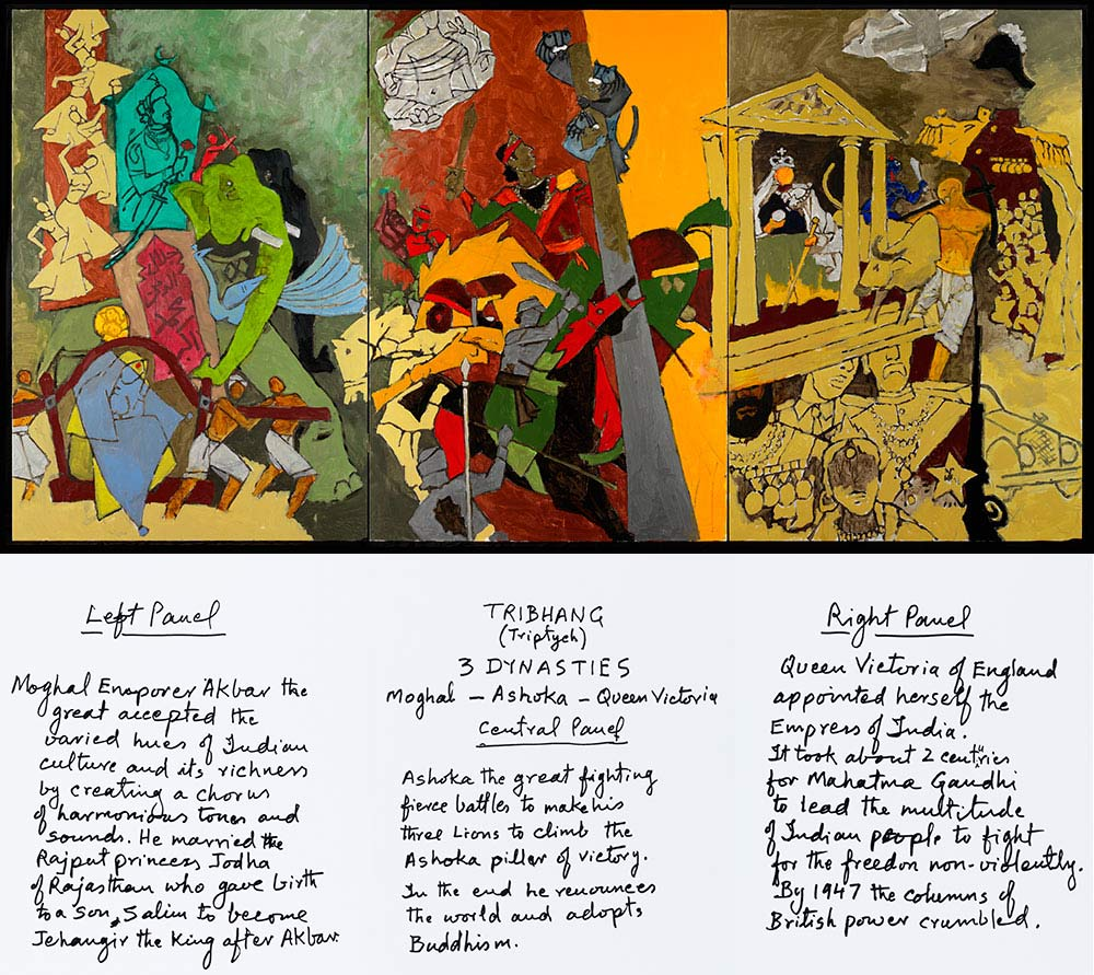 Mf Husain Master Of Modern Indian Painting  About The Exhibition  Three Dynasties What Is The Thesis Statement In The Essay also Write Assignment For You  High School Essays
