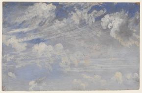 Study of cirrus clouds, John Constable, about 1821-22, oil on paper © Victoria and Albert Museum, London