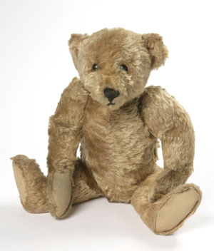 Teddy Bear, Steiff, Germany, 1904-05, copyright Victoria and Albert Museum