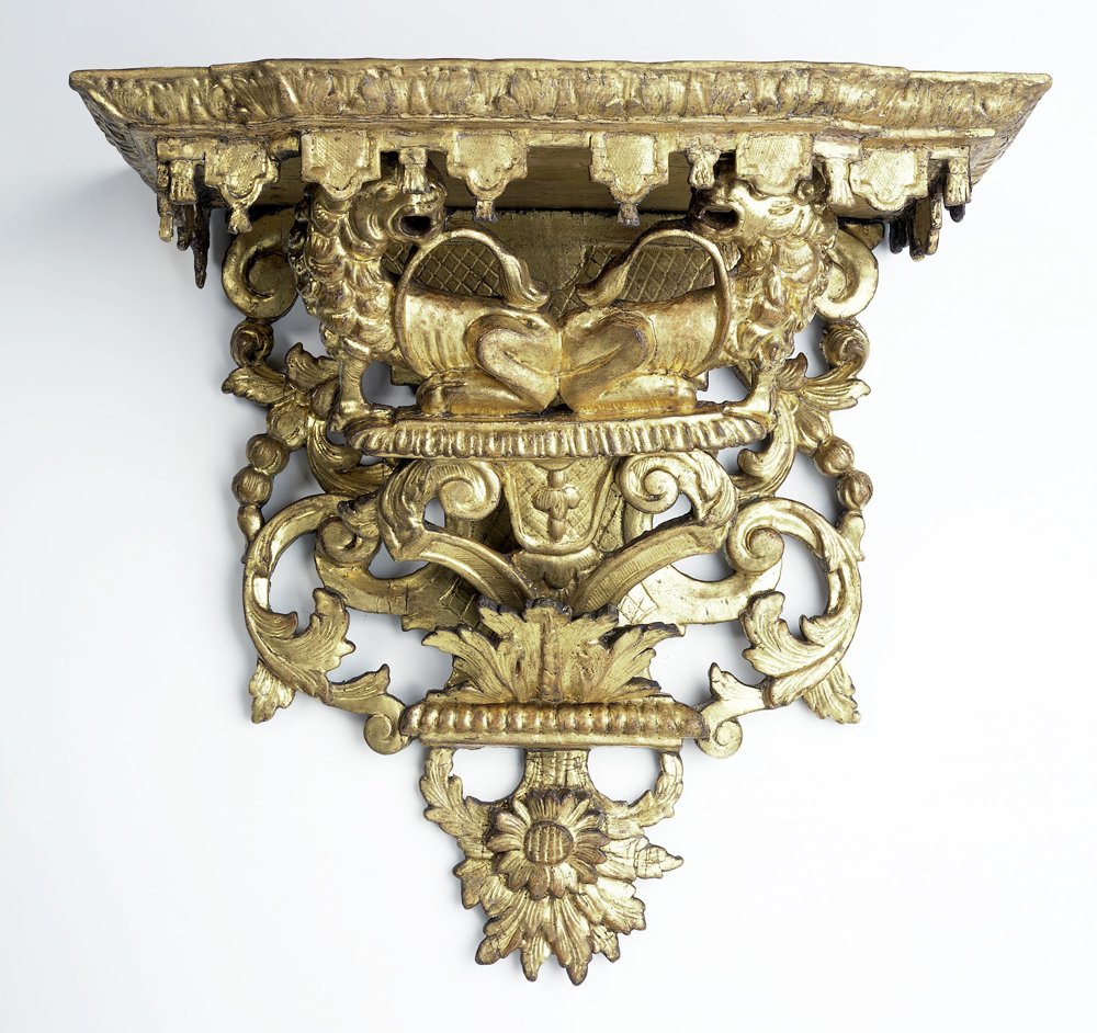 Wall Bracket, Unknown Maker, 1695 1710. Museum No. W.6 1932