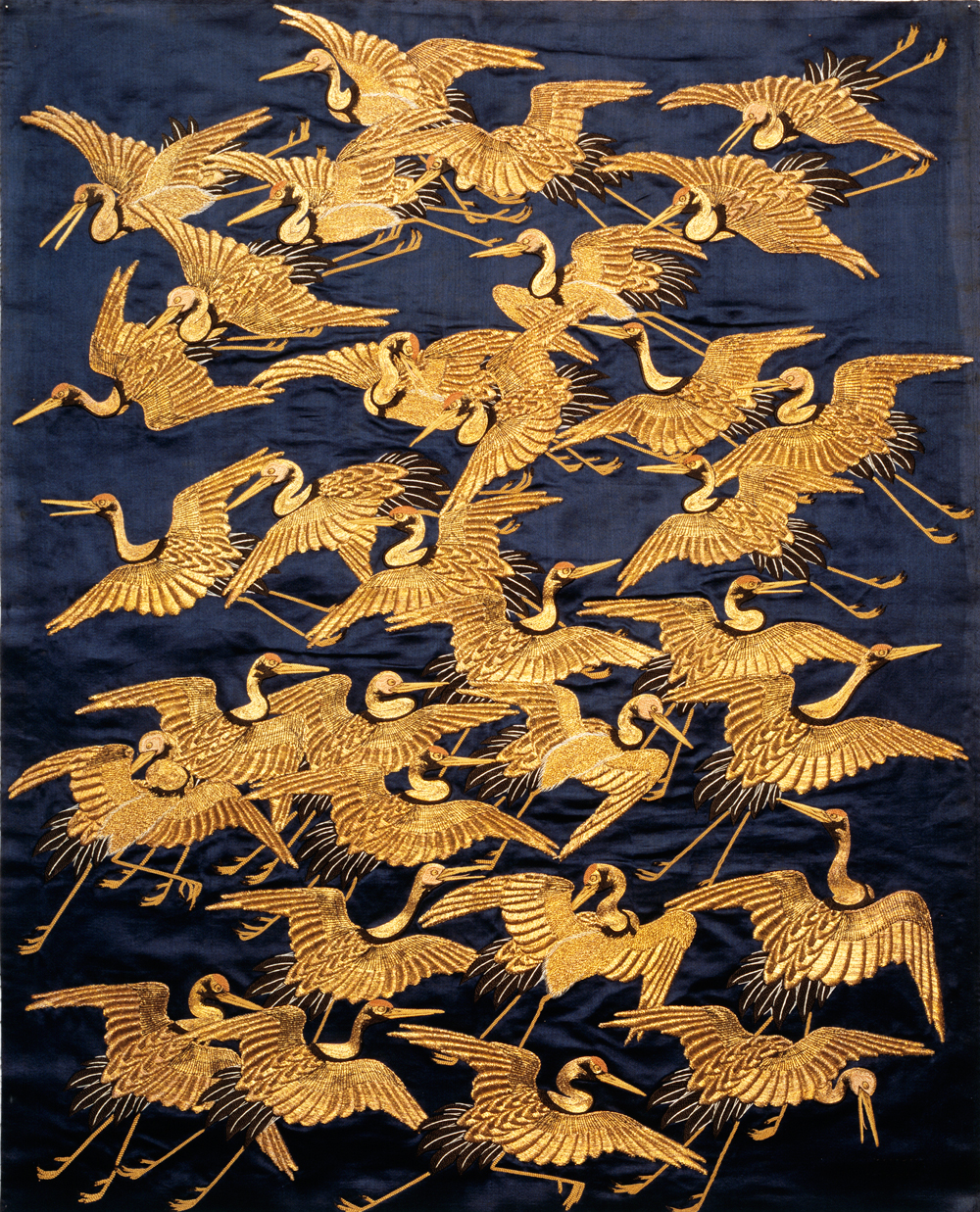 Art deco global inspiration victoria and albert museum for Chinese style wallpaper uk