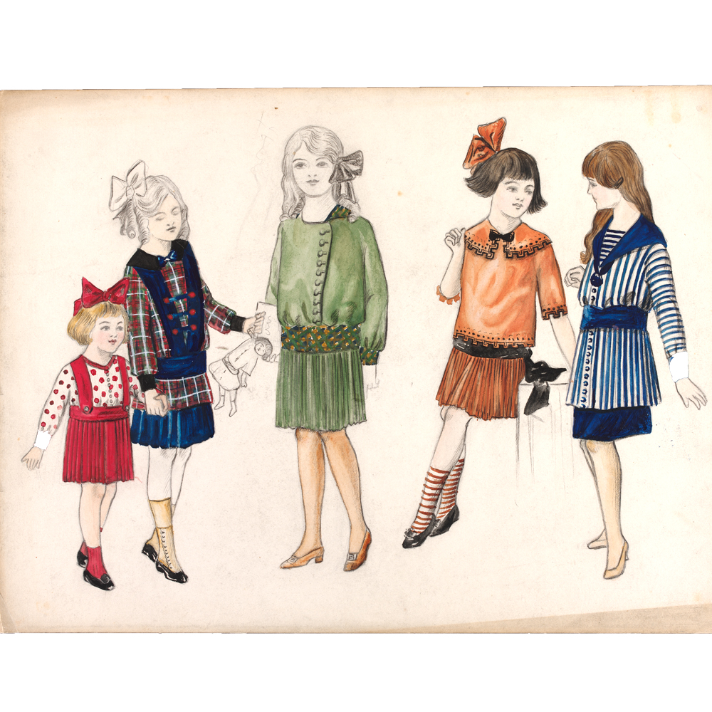 Fashion Drawing and Illustration in the 20th Century - Victoria and ... 8d4f0e9de5c7