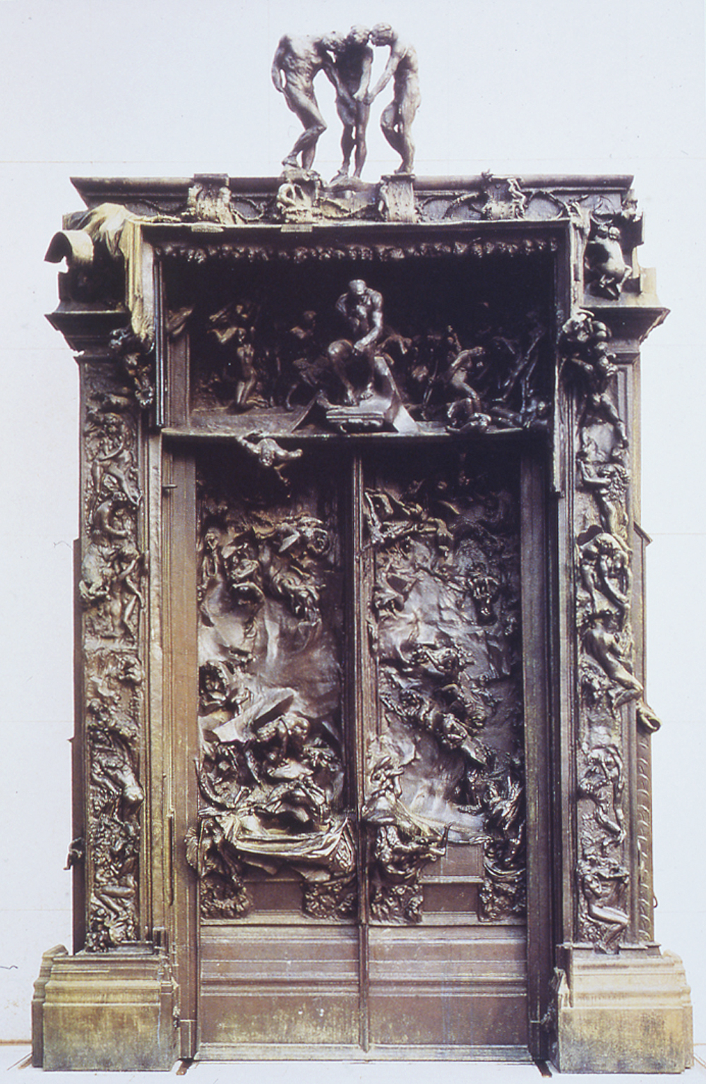 The Gates Of Hell Auguste Rodin Images & Pictures - Becuo Rodin Gates Of Hell