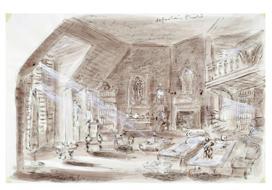 Set Design By Oliver Messel For The Film Suddenly Last Summer Museum No