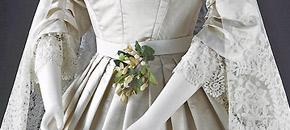 Conservation of a Victorian Wedding Dress