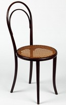 Chair, model no. 14, designed and manufactured by Thonet Brothers (Gebrüder Thonet), about 1859. Museum no. W.31-2011
