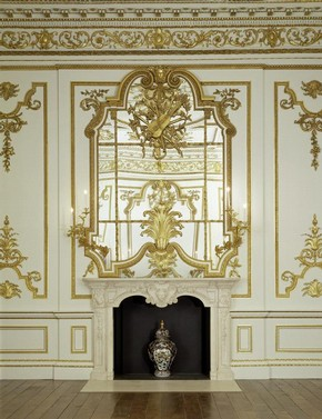 Mirror in the Norfolk House Music Room, British Galleries, V&A
