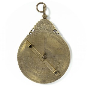 Astrolabe Made by Abdul Ahmed, 1715 Museum no. 458-18888 Room 42