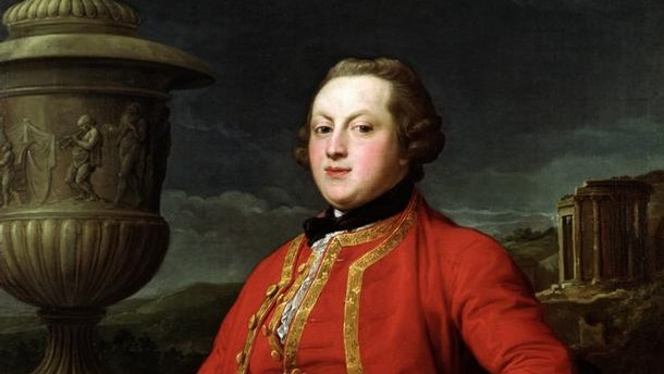 Pompeo Batoni (1708 - 87), portrait of Edward Howard (1744 - 1767), Italy, 1764 - 66. Museum no. W.36:1-1949