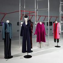 Yohji Yamamoto installation in Gallery 38