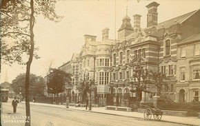 Figure 5 - Camberwell School of Arts & Crafts, about 1910. From the Southwark Local History Library & Archive