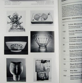 Figure 8 - Art School Loan Collections, 1975-77, showing the wide variety of material available. Photograph by Joanna Weddell