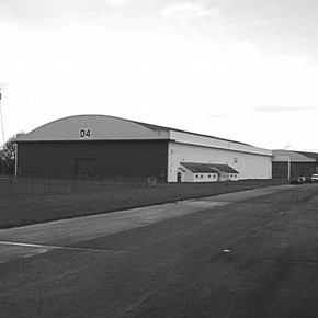 Figure 1. Hangar at Wroughton.