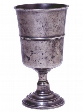 Communion cup, about 1784. Museum no. M.155-1930