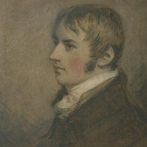 'Constable at the age of twenty' by Daniel Gardner, 1796, Museum no. 589-1888