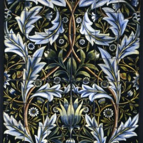 Figure 1. Panel of tiles designed by William Morris, William De Morgan, 1876.