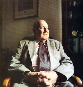 Victor Percival at home.