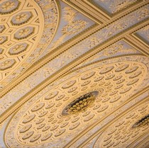 Chapel interior, ceiling detail, Royal Hospital, Greenwich, James Stuart, assisted by Robert Mylne and William Newton, 1779-89. Courtesy of James Brittain/ the Greenwich Foundation, © The Greenwich Foundation/ James Brittain