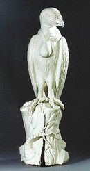 'King Vulture', porcelain, Meissen, about 1731, upright version. Christie's Images Ltd