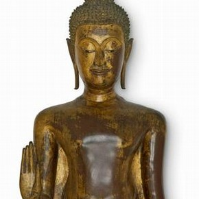Standing Buddha, Ayutthaya, Museum no. IS.11-1996