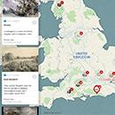 Map: Constable's England